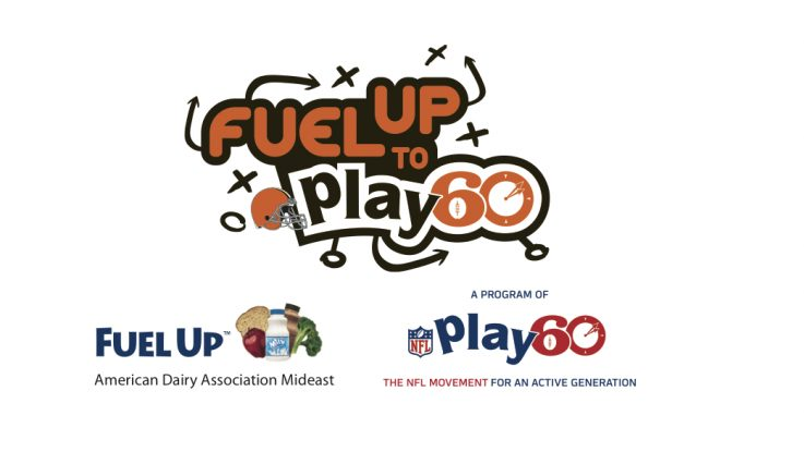 American Dairy Association Mideast Fuel Up to Play 60 Cleveland Browns Logo
